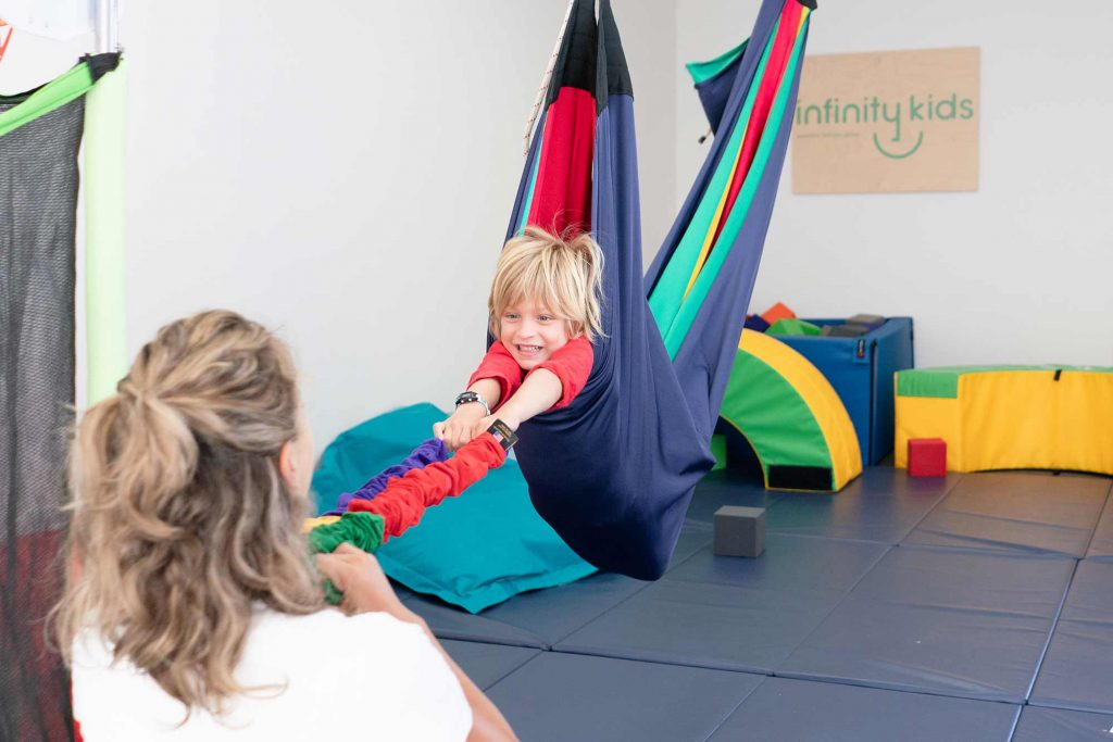 Pediatric Therapy performed at Infinity Kids OC